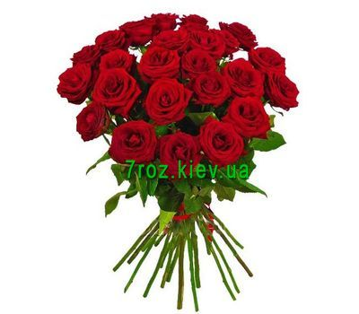 """Bouquet of 23 red roses"" in the online flower shop 7roz.kiev.ua"