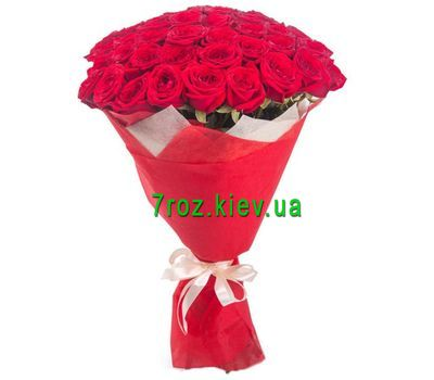 """Bouquet of 29 red roses"" in the online flower shop 7roz.kiev.ua"