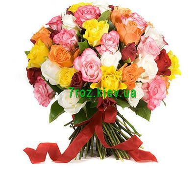 """Bouquet of 43 roses"" in the online flower shop 7roz.kiev.ua"