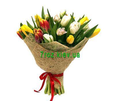 """""""Букет из 21 тюльпана"""" в интернет-магазине цветов 7roz.kiev.ua"""