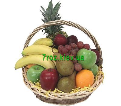 """Fruit Basket"" in the online flower shop 7roz.kiev.ua"