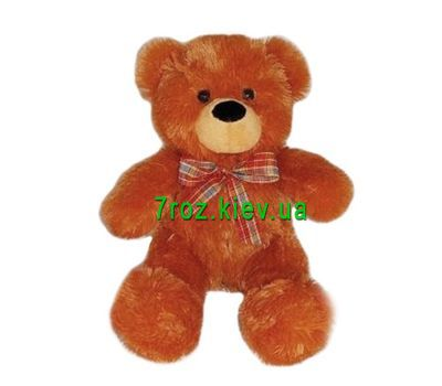 """Soft toy Brown Bear"" in the online flower shop 7roz.kiev.ua"