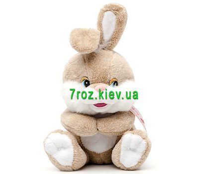 """Soft toy Bunny"" in the online flower shop 7roz.kiev.ua"