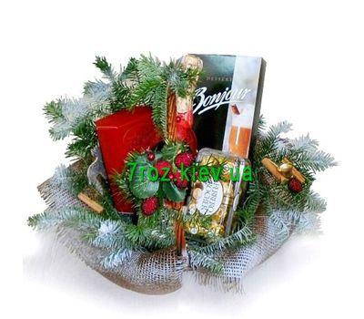 """""""Корзина подарков на Новый год"""" в интернет-магазине цветов 7roz.kiev.ua"""