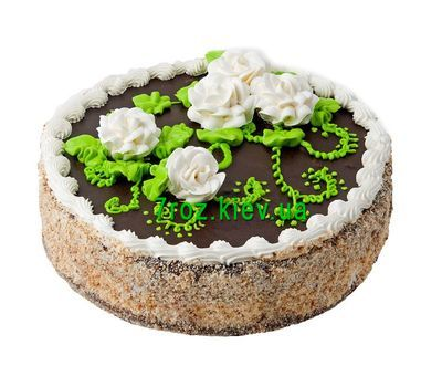 """Cake from a local bakery"" in the online flower shop 7roz.kiev.ua"